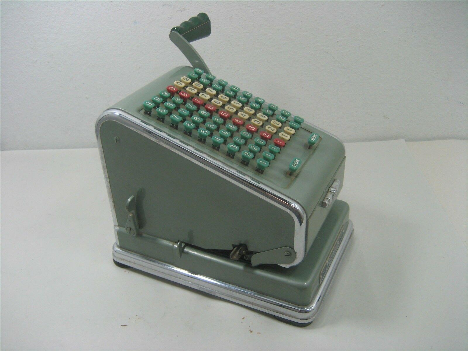 Vintage Antique The Paymaster System 8 Column Keyboard Series 700