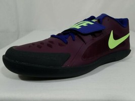 Nike Zoom Rival SD 2 Throwing Shoes Sz 12 Men's Purple Track & Field 685134-600 - $64.34