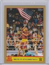 2015 Topps WWE Hulk Hogan Tribute #13 Wins 1991 Royal Rumble Gold /10 VHTF Rare - $20.00
