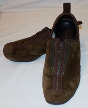 Merrell Barrado Leather Brown Shoes US 8 Womens SuedeSlip On Flats - $27.99