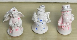 Kurt S. Adler - Lot of 3 Different Ceramic Lightup Ornaments - $11.87