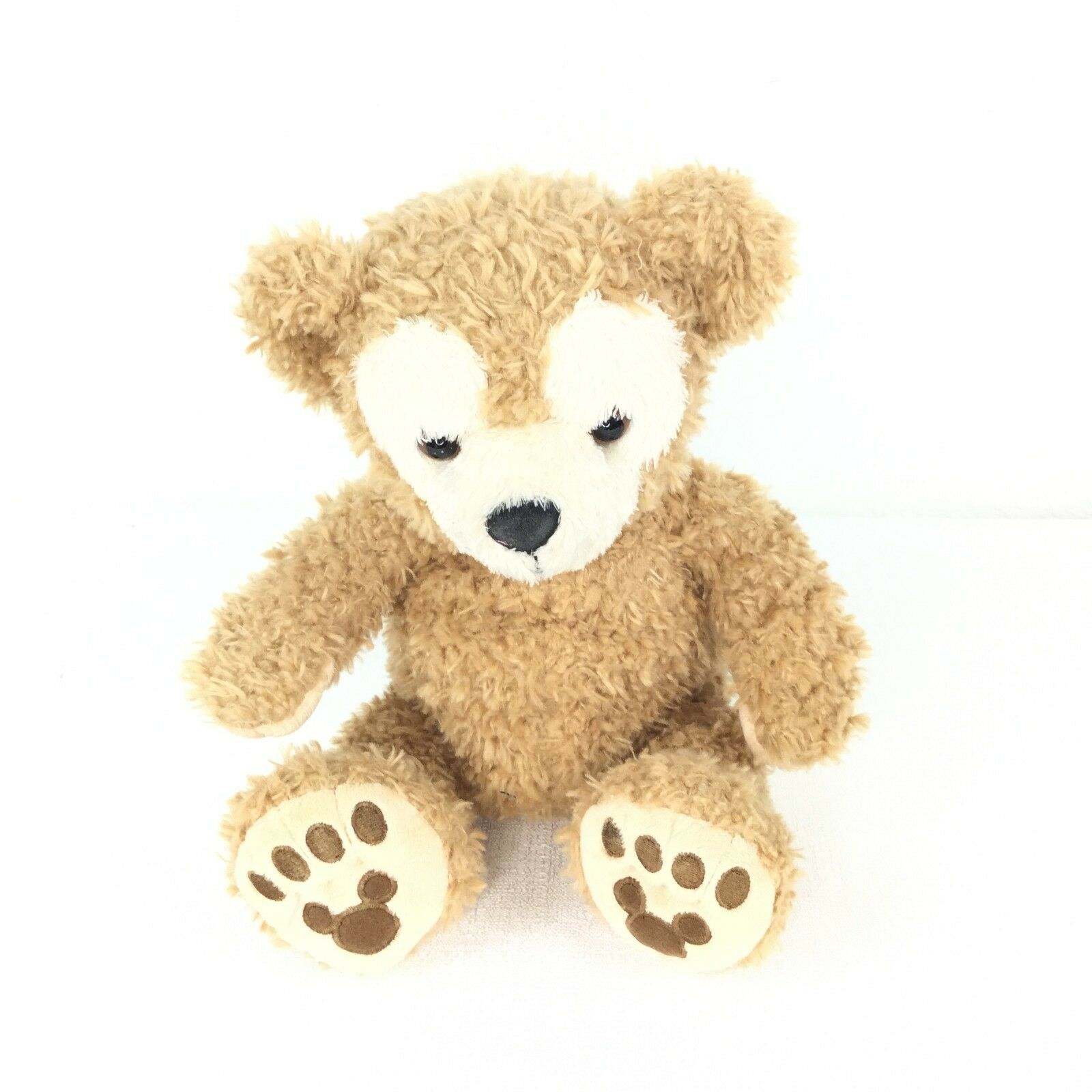 Duffy the Disney Bear Plush Brown 8 X 12.5 In image 1