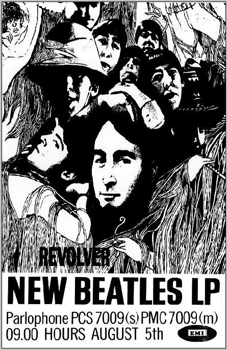Beatles poster revolver