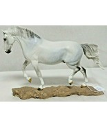 Brigitte Eberl Trotting Lippizaner Majestoso Nobila Traditional Size Resin Horse