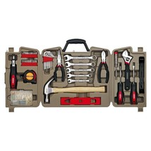 Master Mechanic Tool Kit 144 Pieces Set for General Household Home Repairs - $50.31