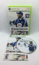NFL Head Coach 09 (Microsoft Xbox 360, 2008) - CIB Complete, Tested, Wor... - $22.35