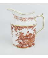 Royal Crown Derby Red Aves Creamer Bone China Made In England - $20.00