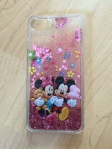 Mickey & Minnie Mouse Sparkle Liquid Glitter Quicksand case for iPhone 7 Plus - $13.99