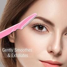 Boao 96 Pieces Eyebrow Razor Eyebrow Shaver Eyebrow Shaper Facial Razor with Pre image 4