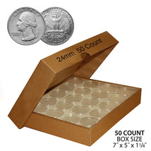 quarter 5 Guardhouse 24.3mm-Direct-Fit-Coin-Capsules
