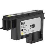HP C4900A 940 Printhead for Officejet Pro Printers - Inkjet - Black/Yellow - $90.78