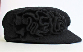 Nine West Women's Newsboy Cap Black - $16.71