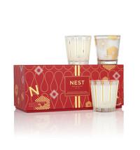 Nest Fragrances Festive Petite Trio Single Wick 4.5 Ounces Scented Candle - $79.95