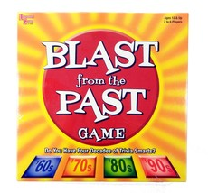 Blast from the Past Trivia Board Game University Games 12+ 2004 Sealed N... - $30.58