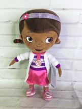 Disney Store Doc McStuffins Plush Doll Doctor Vet Stuffed Cuddle Toy Dot... - $44.55