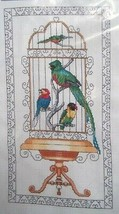 The Bird Cage Vickery Collection Counted Cross Stitch #2029  Sealed - $19.79
