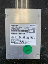 """Toshiba 1024 GB 2.5"""" Internal Solid State Drive THNSNJ1T02CSX 1TB SSD - $138.59"""