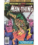 Man-Thing Comic Book Volume 2 #3 Marvel Comics 1980 FINE - $2.99