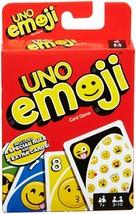 Mattel UNO Emoji Card Game Brand new sealed package Mattel Games Original - $8.99