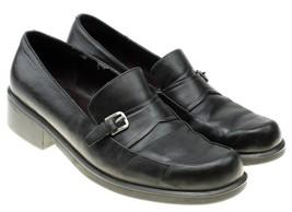 Liz Claiborne Womens Black Loafers Shoes Slip On Size 6 M - $14.80