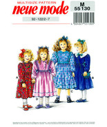 Vintage Neue Mode, Pattern M 55130, Girls Spring Dress, Summer Dress, Ch... - $10.00