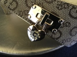 GUESS Tan Platform Wedge Thong Sandals  Shoes SZ 8M - €52,99 EUR