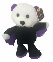 """Hallmark Halloween Collector's Stuffed Animal Plush Bear Vampire Bat 11"""" - $27.71"""