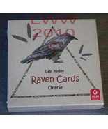 Raven Oracle Cards by Gabi Bucker New Wicca Pagan - $29.80