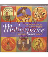 Motherpeace Round Tarot Deck Goddess inspired New in box - $24.75