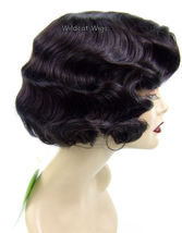 Fingerwave Quality Wig, Rose.  Color 4-Dark Brown.   - $34.99