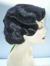 Fingerwave Quality Wig. Rose.  Black. Theatre!   Downton Abbey - $34.99