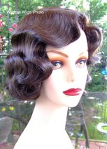 Fingerwave Quality Wig, Rose.  Color 6- Chestnut Brown. NEW! - $34.99