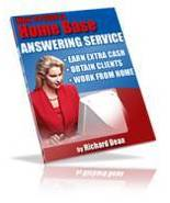 How to Start a Home Based Answering Service eBook - $1.99