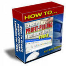 How to Create Profit Pulling Toolbars Website promotion - $1.99