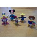 Vintage RARE FIND! Epcot Center Disney PVC Figures - $9.99