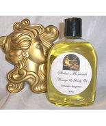 Gardenia Scented Massage & Body Oil 8oz  - $11.95