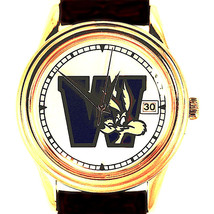 Wile E Coyote Fossil With Date Easy Read Dial, Warner Bros New Unworn Wa... - $38.46