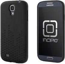 SAMSUNG GALAXY S 4 S4 INCIPIO BLACK FREQUENCY SEMI RIGID CASE - $21.99