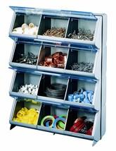 Storage Organizer Bin Box Drawer Parts Plastic Cabinet Container Bins Ga... - $49.18 CAD