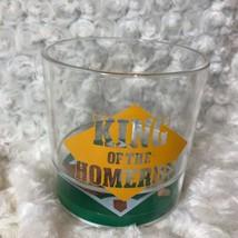 Hard Plastic Rocks Cocktail Cup King of the Home Run Baseball Glove bat ... - $12.19