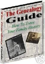 Genealogy guide  to trace your family history  ebook