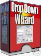 Drop Down Wizard Menu Creator Software - $1.99