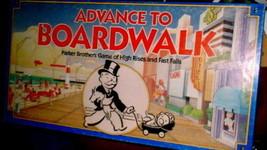 Advance To Boardwalk 1985 Vintage Board Game - $12.00