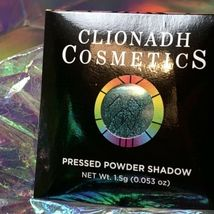 NWT NIB Clionadh Cosmetics JEWELLED MULTICHROME SINGLE PAN *ONE SHADE* CASTLE image 8