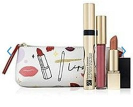 Estee Lauder Pretty Pink Lips Gift Set NEW - $34.65