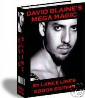 David Blaine magic tricks revealed ebook