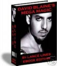 David Blaine magic tricks revealed ebook - $1.99