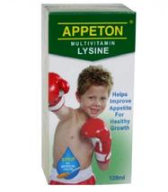 2 x APPETON MULTIVITAMIN LYSINE SYRUP TO IMPROVES CHILD APPETITE 120ml - $38.99