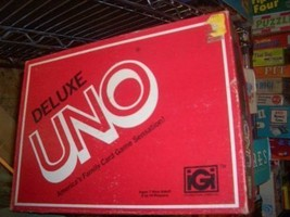 DELUXE UNO CARD GAME 1978 VINTAGE GAME NICE CARDS - $24.00