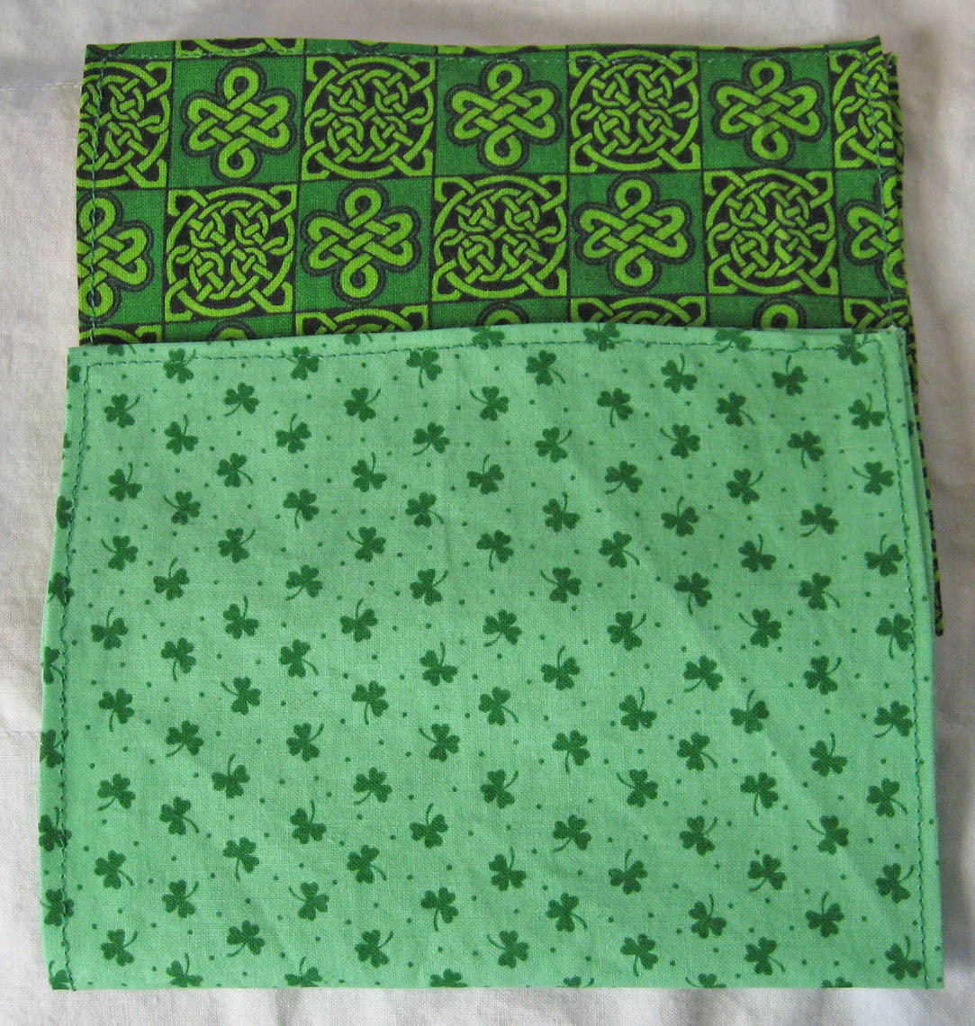 Primary image for Rosin Cloth Set of Two For Fiddle//Celtic/Irish/St Patricks/FiddleBelle Bran